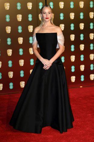 Jennifer Lawrence en los Bafta 2018