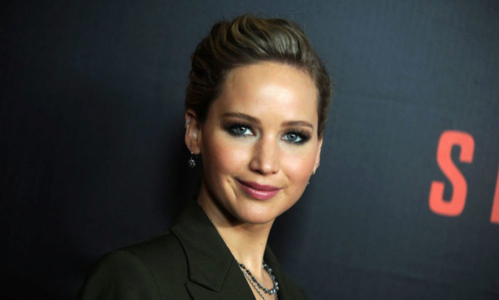 La actriz Jennifer Lawrence.