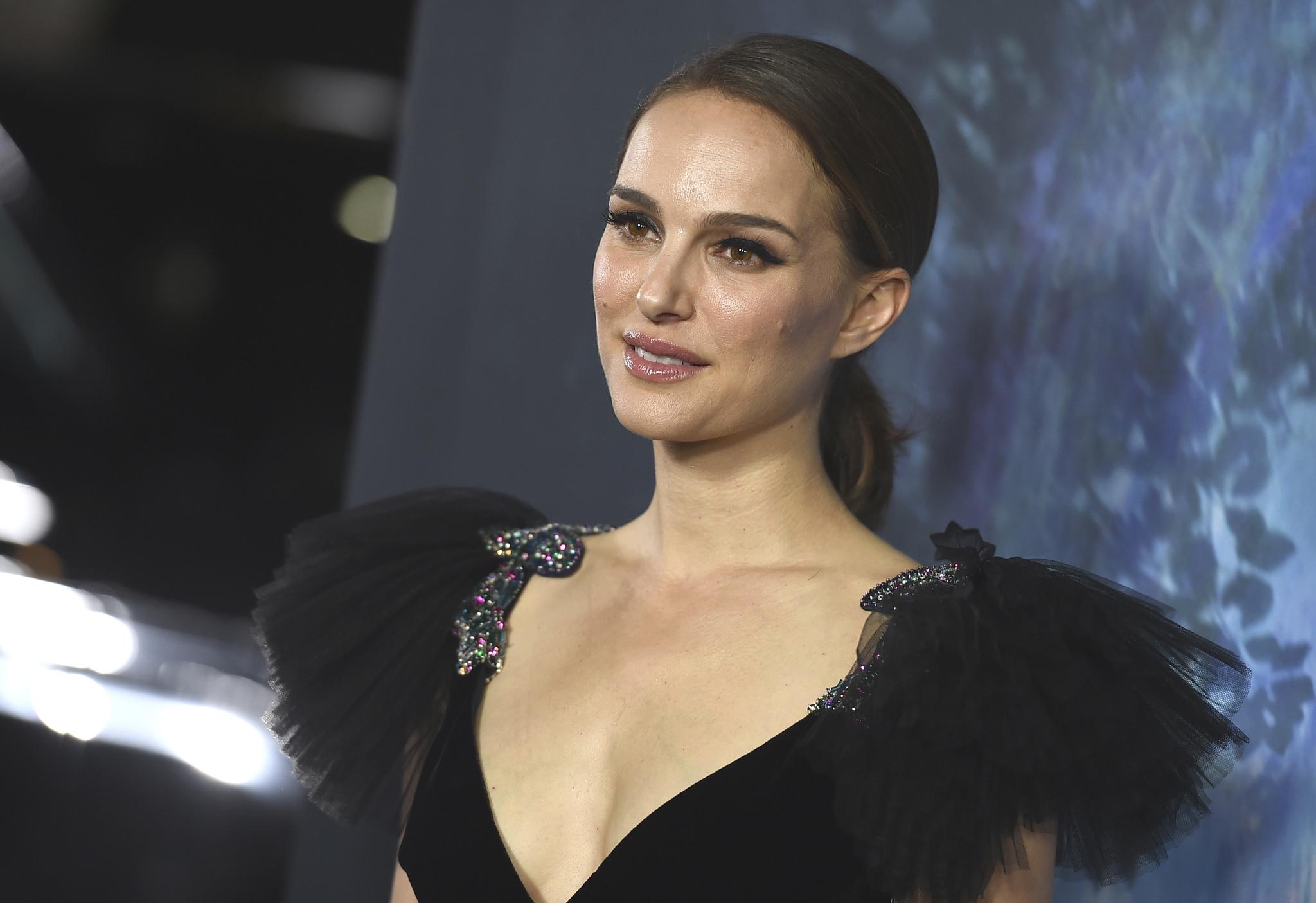 """Natalie Portman en la premiere de """"Annihilation"""""""