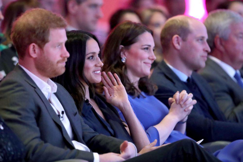 Meghan Markle debuta en su primer acto con la Royal Foundation.