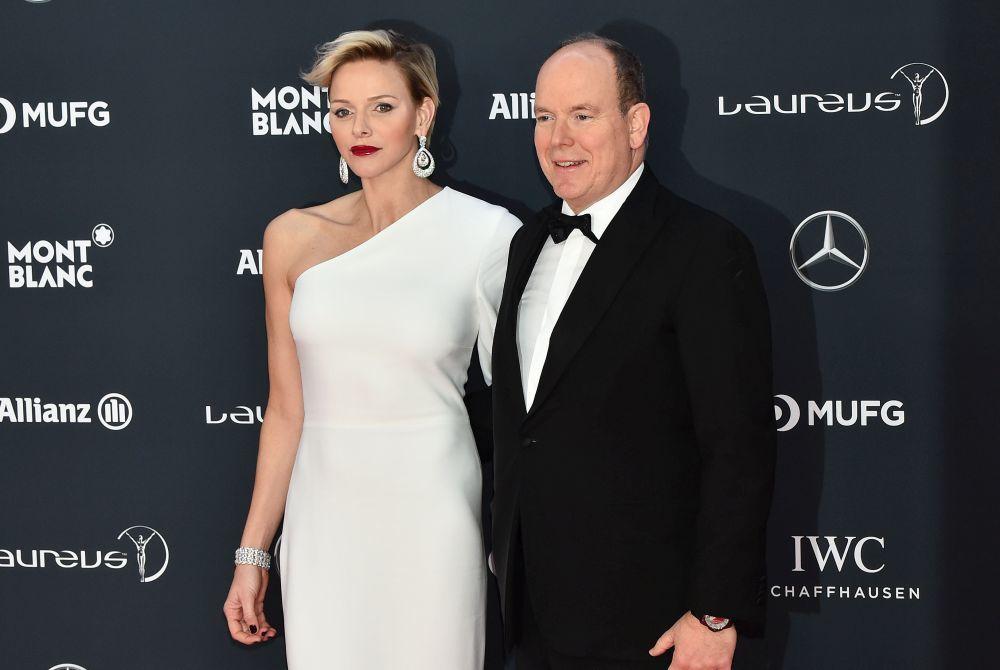 Alberto y Charlène de Mónaco en los Premios Laureus.