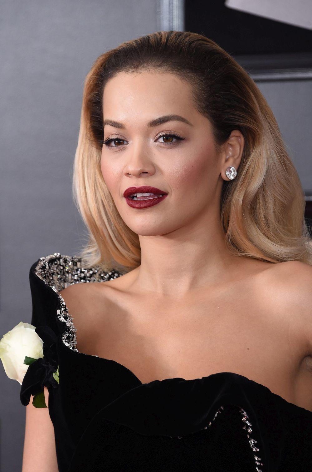 La cantante Rita Ora.