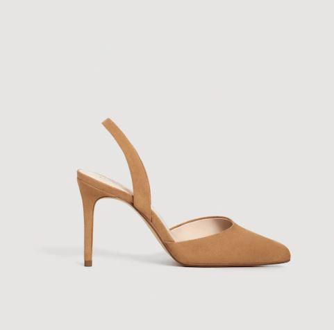 Zapato de tacón destalonado de Mango (euros)