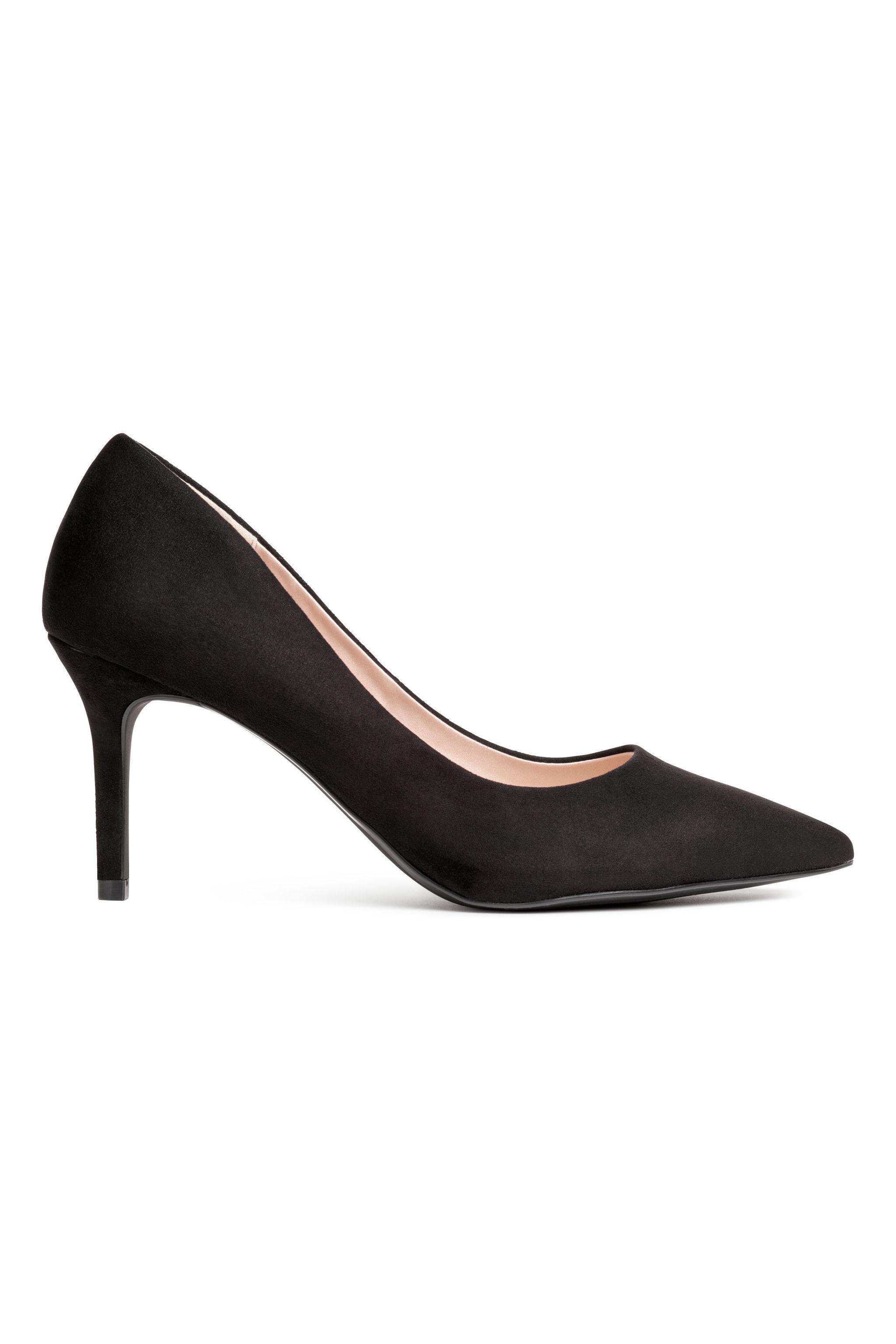 Salones negros de H&M (19,99 euros)