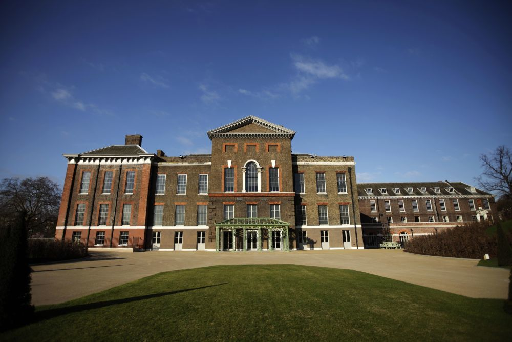 Vistas de Kensington Palace.