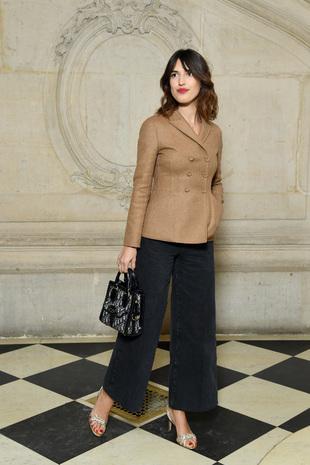 Jeanne Damas en el desfile de Dior.