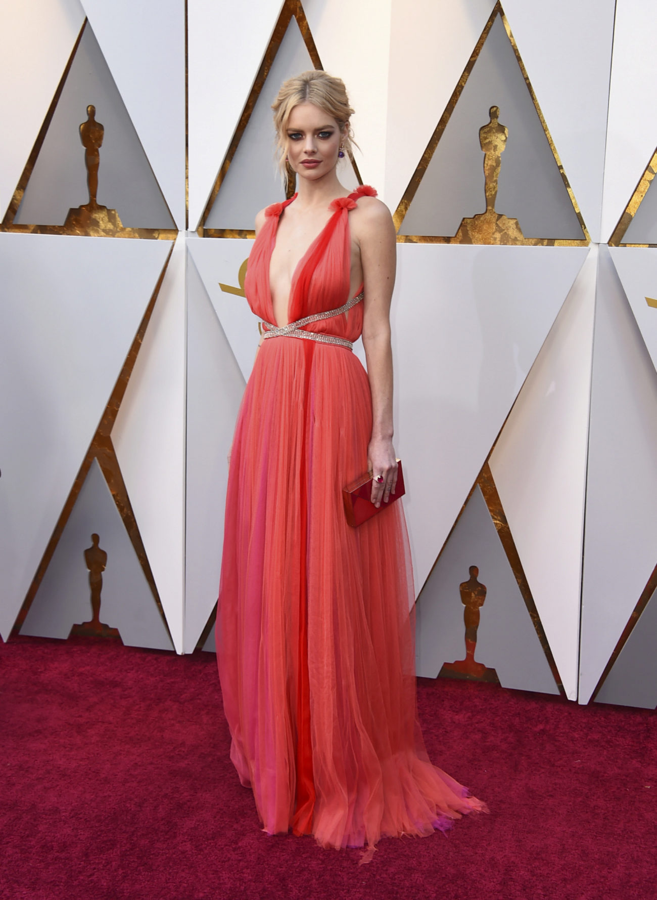 Samara Weaving Los 15 Mejores Vestidos De Los Oscar 2018