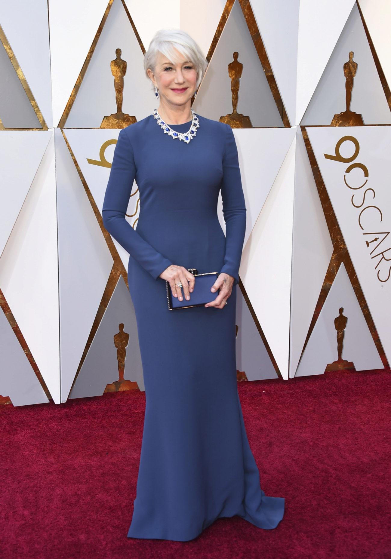 Helen Mirren Los 15 Mejores Vestidos De Los Oscar 2018