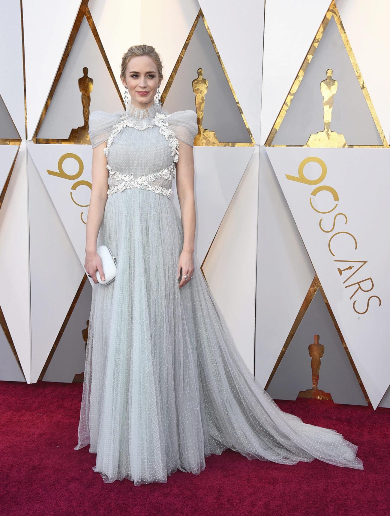 Emily Blunt Los 15 Mejores Vestidos De Los Oscar 2018