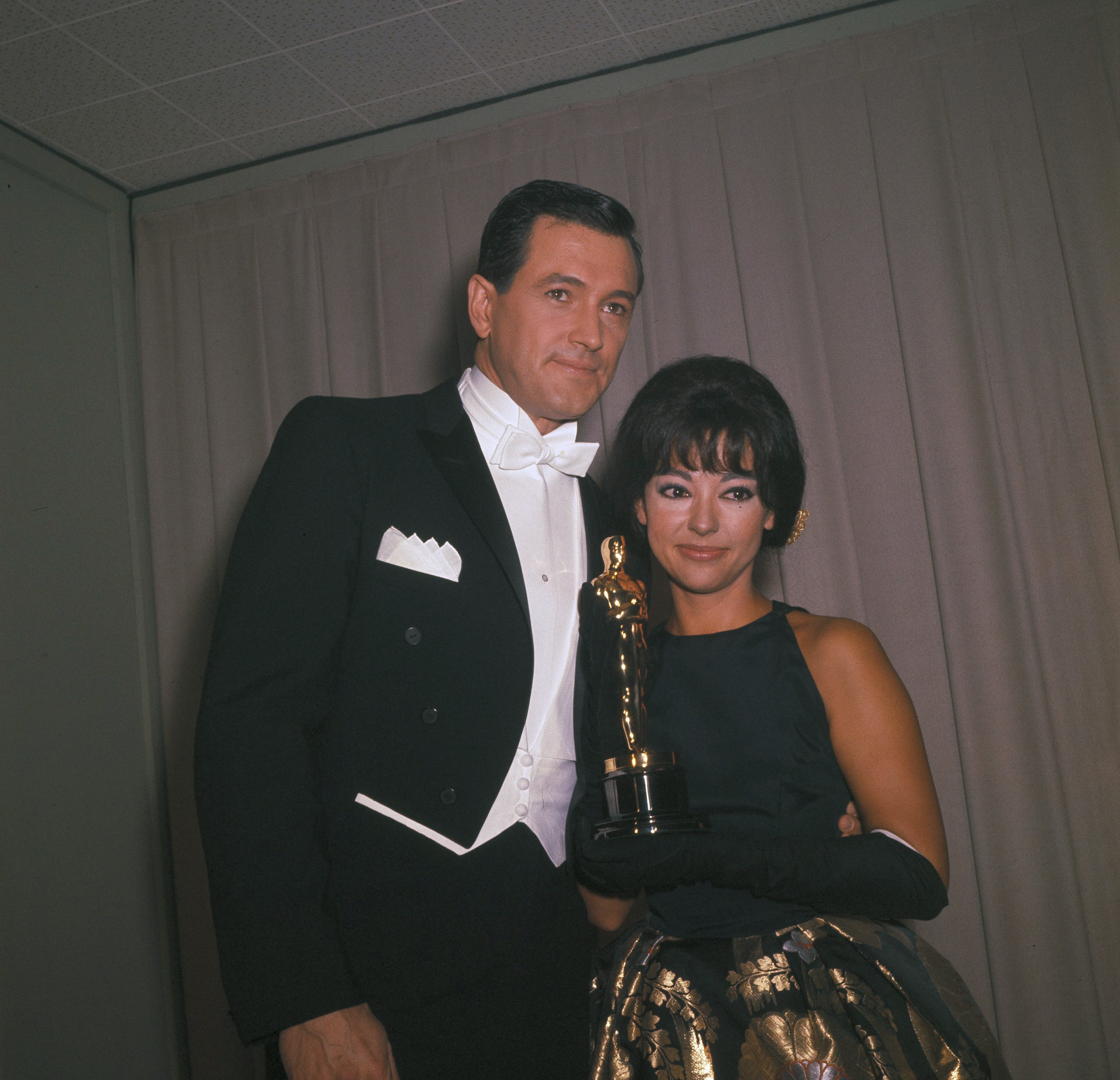 Así era e vestido de Rita Moreno cuando en 1962 fue con él a recoger...