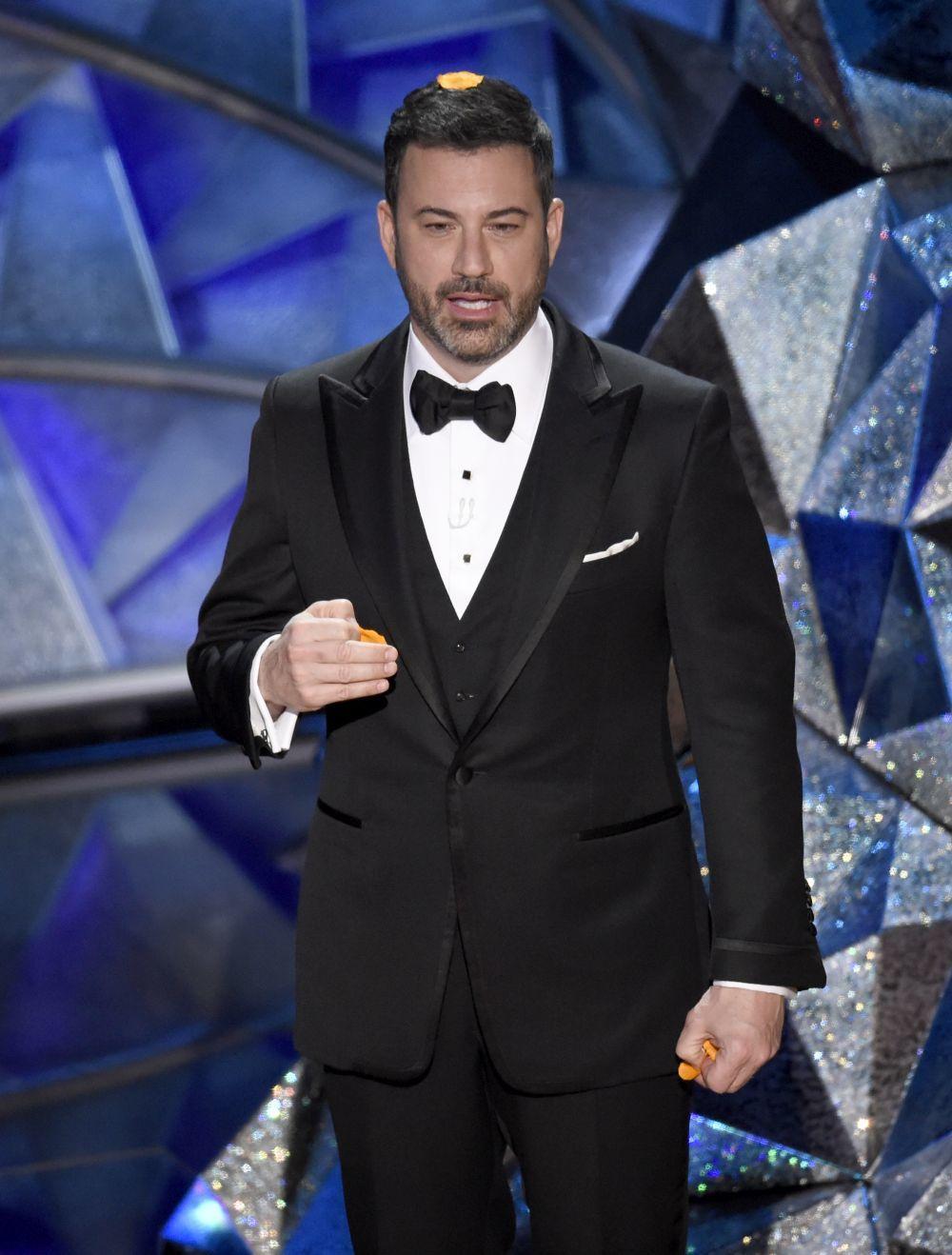 Jimmy  Kimmel se sumó a las reivindicaciones feministas en la 90...