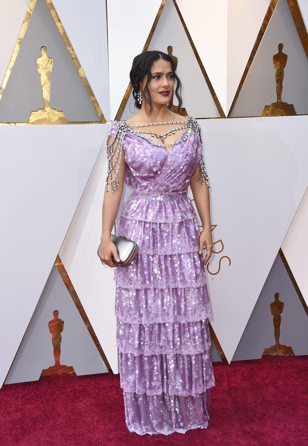 El vestido de Salma Hayek valorado en más de 4 millones   Telva.com