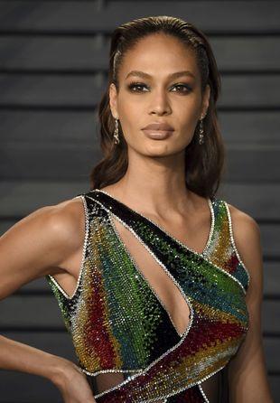 Joan Smalls, modelo de Victoria's Secret, ha querido dar el toque...