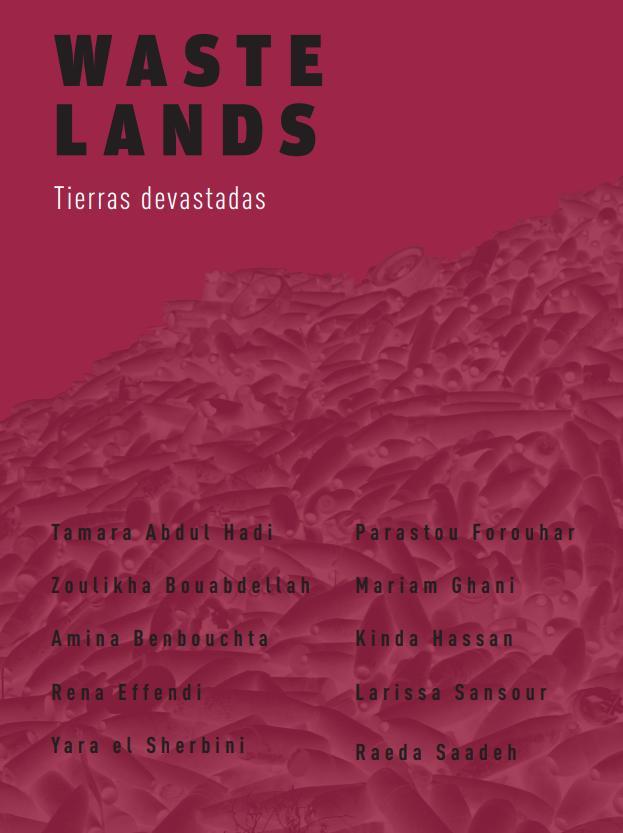 """Exposición """"Tierras devastadas""""."""