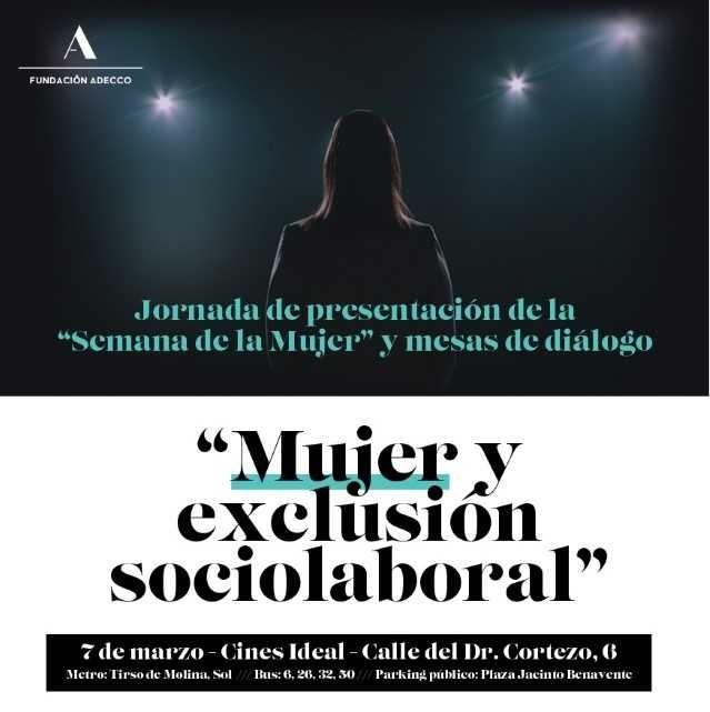 Fundación Adecco presenta la Semana de la Mujer 2018.