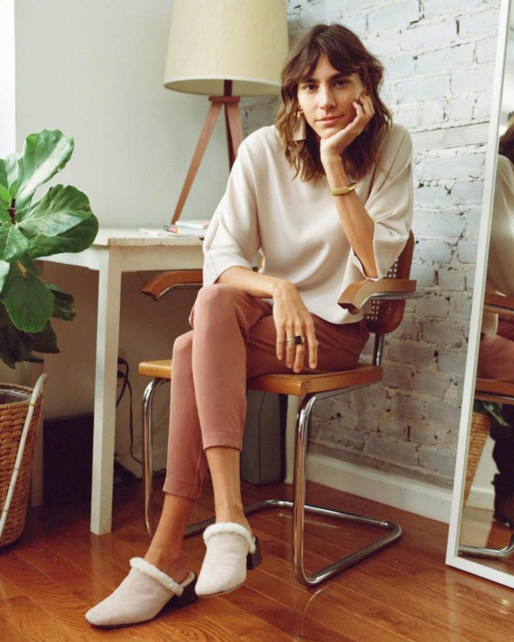 Mari Giudicelli,  modelo brasileña y diseñadora.
