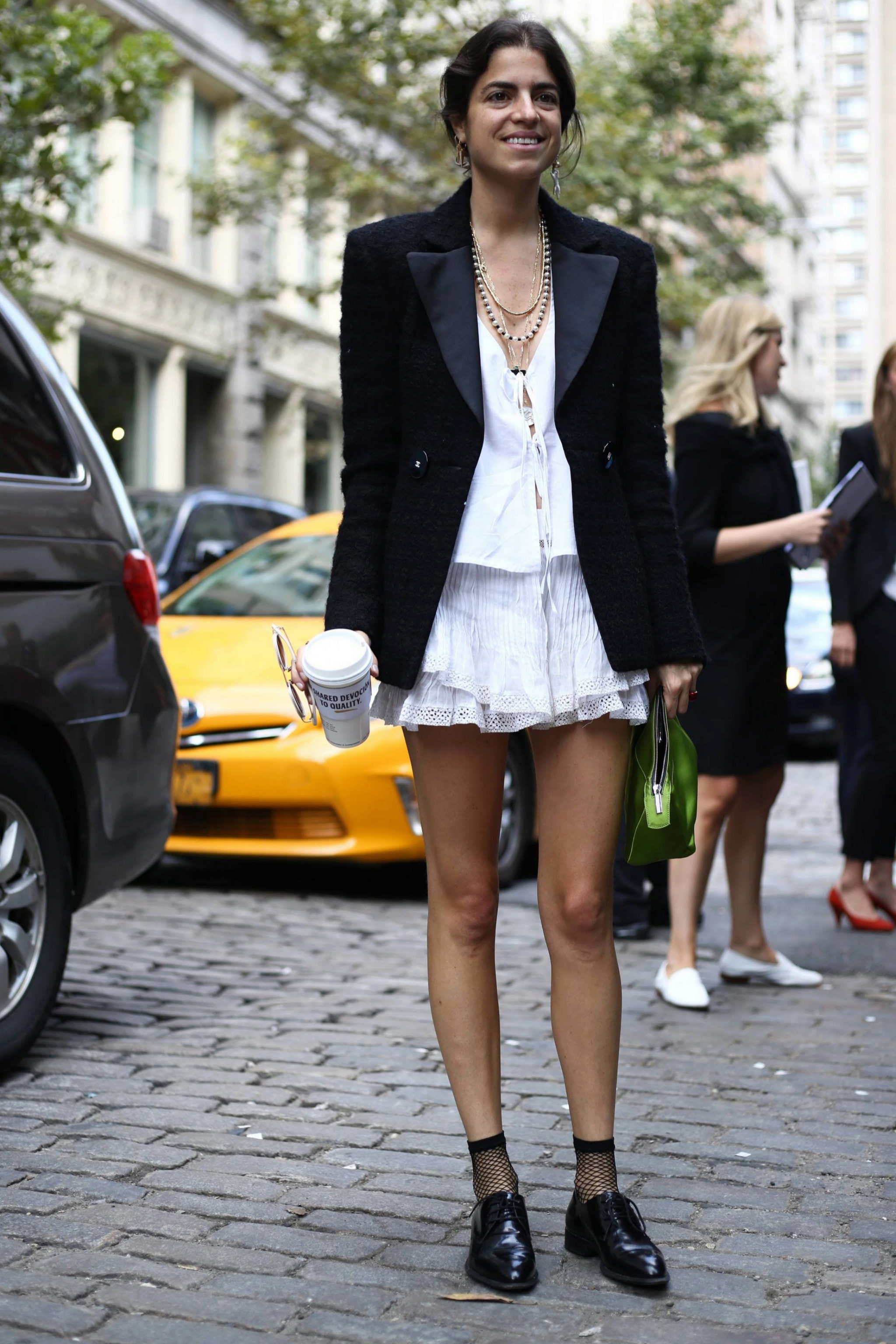 Leandra Medine, de Man Repelle.