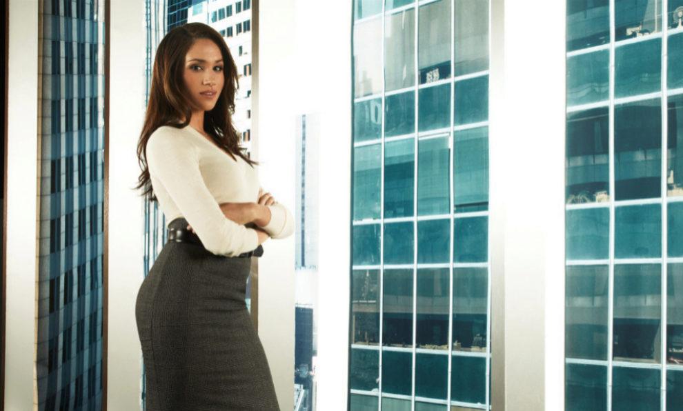 Meghan Markle en el papel de Rachel Zane.