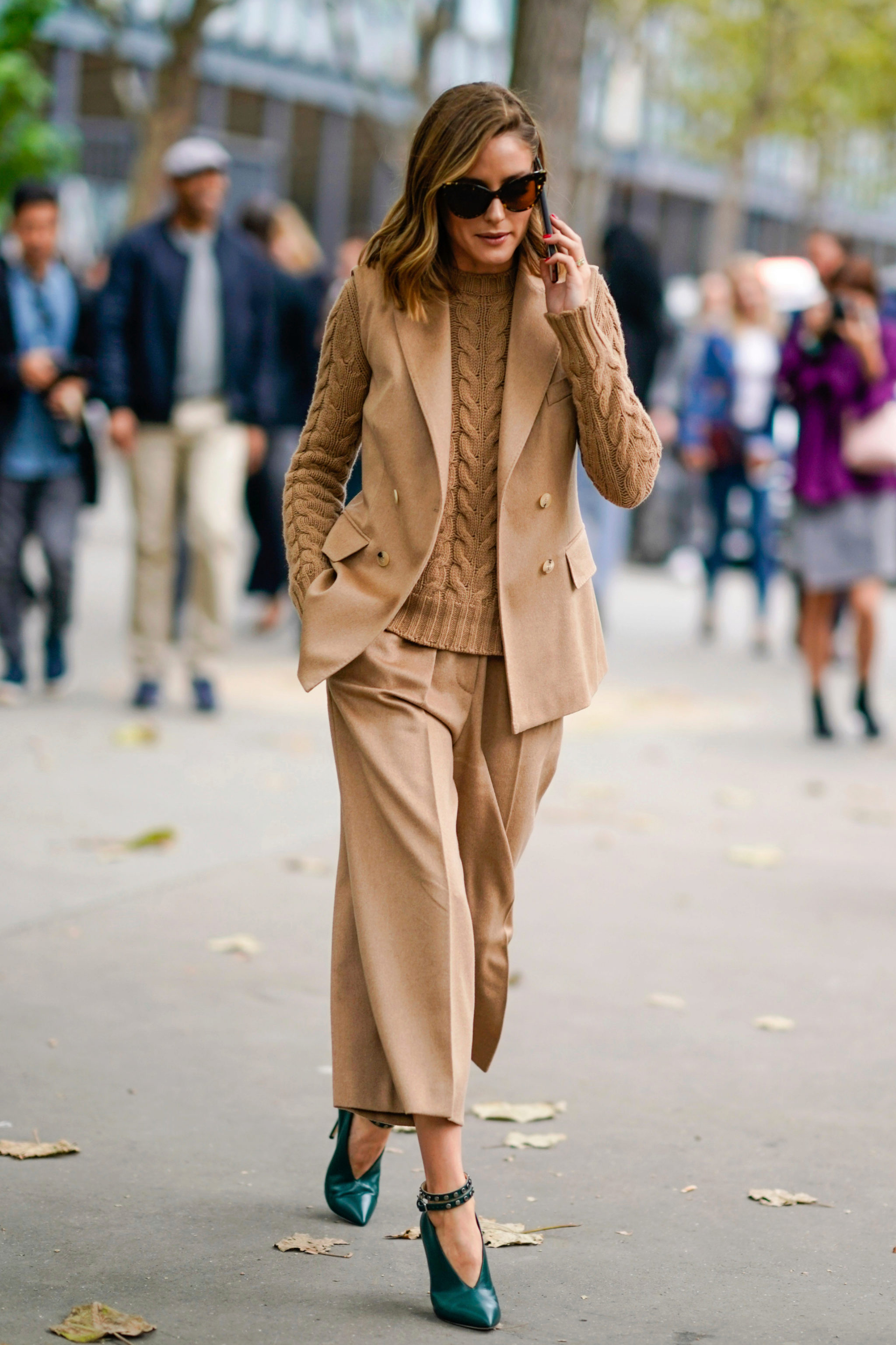Olivia Palermo en la Fashion week de París 2018.