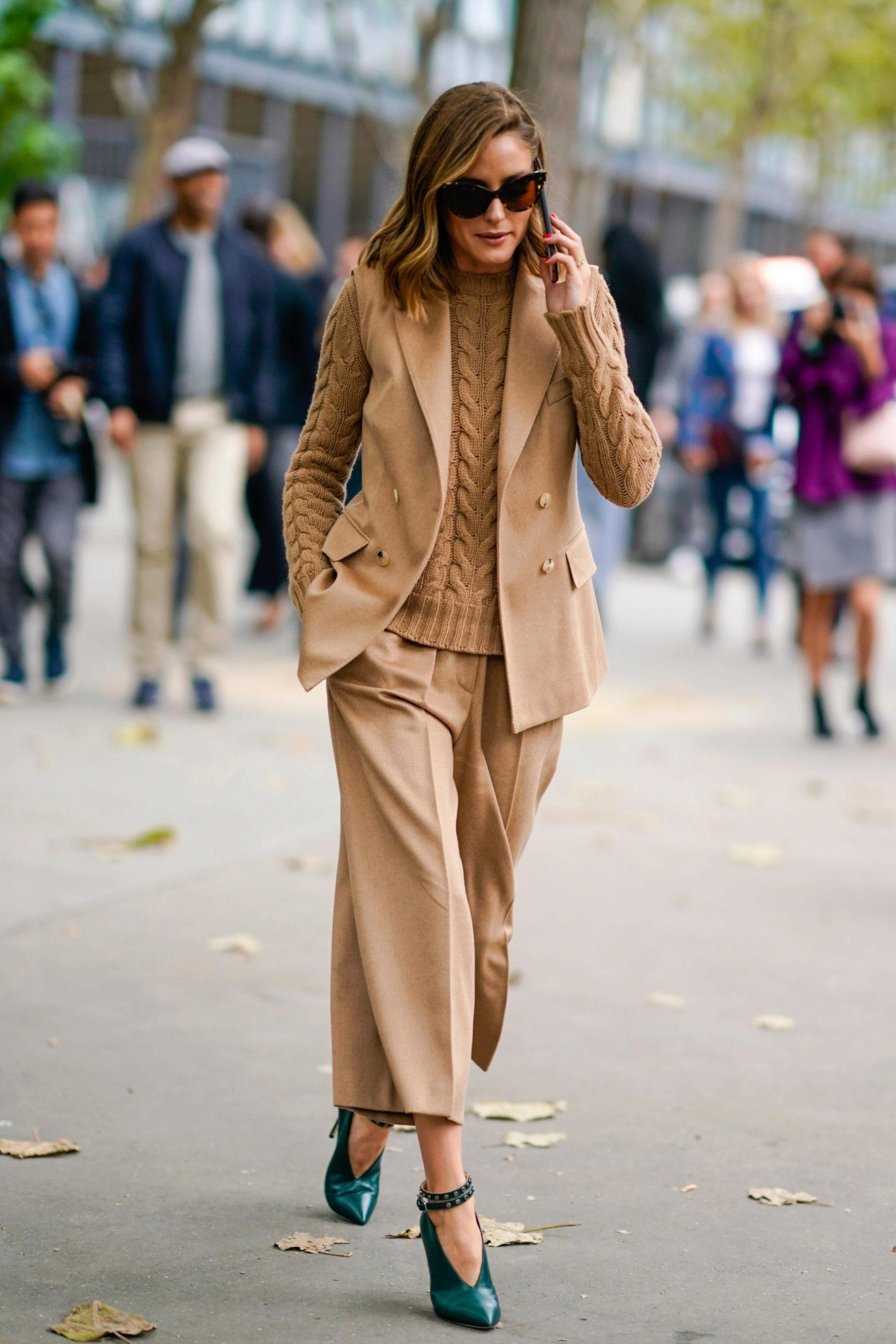 Olivia Palermo en la Fashion week de París 2018.