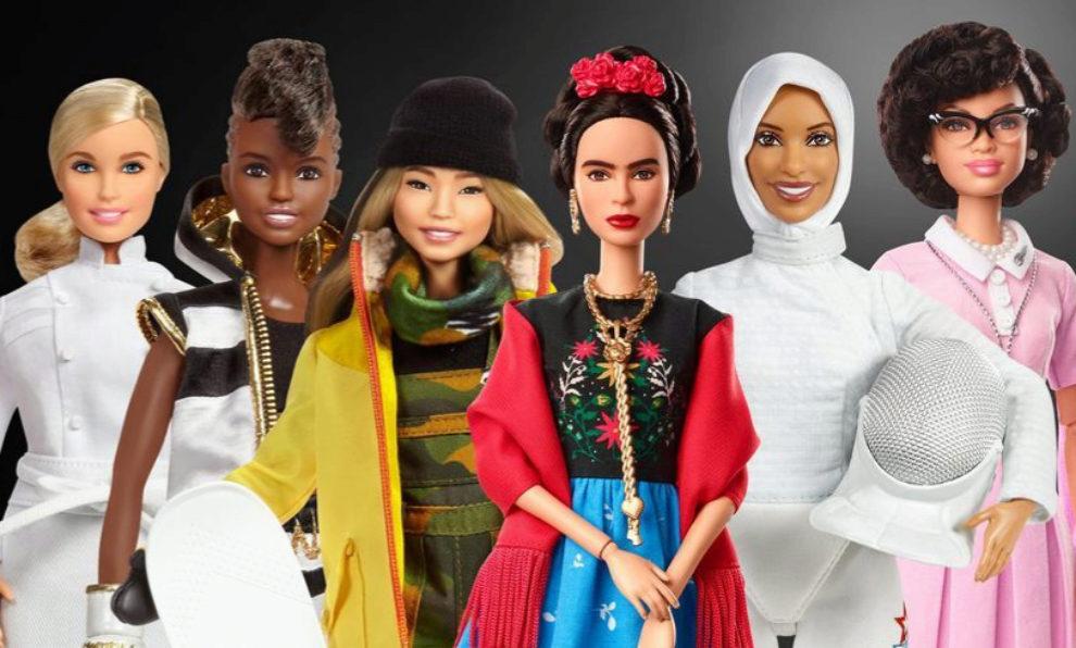 Colección de Barbies en conmemoración al Día Internacional de la...