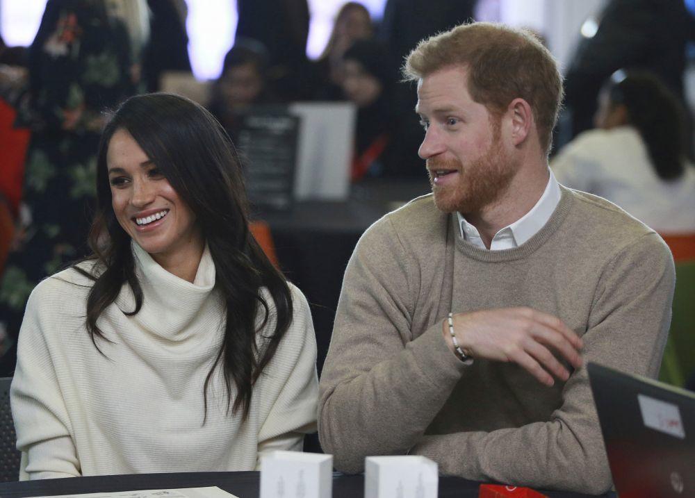 Meghan Markle y el príncipe Harry durante el Día Internacional de la...