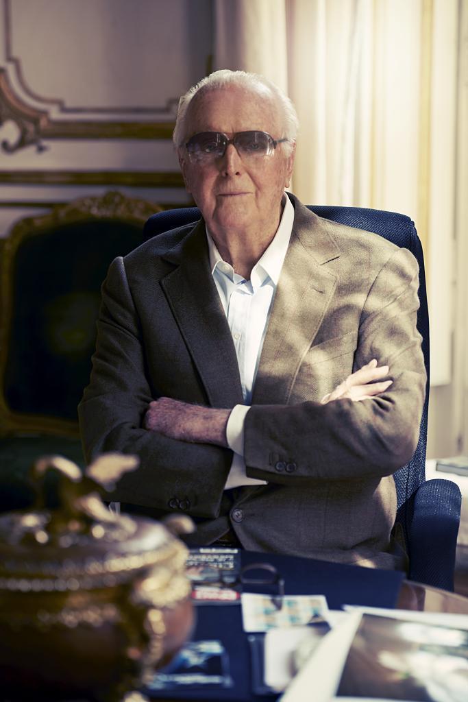 Hubert de Givenchy, noviembre 2014.