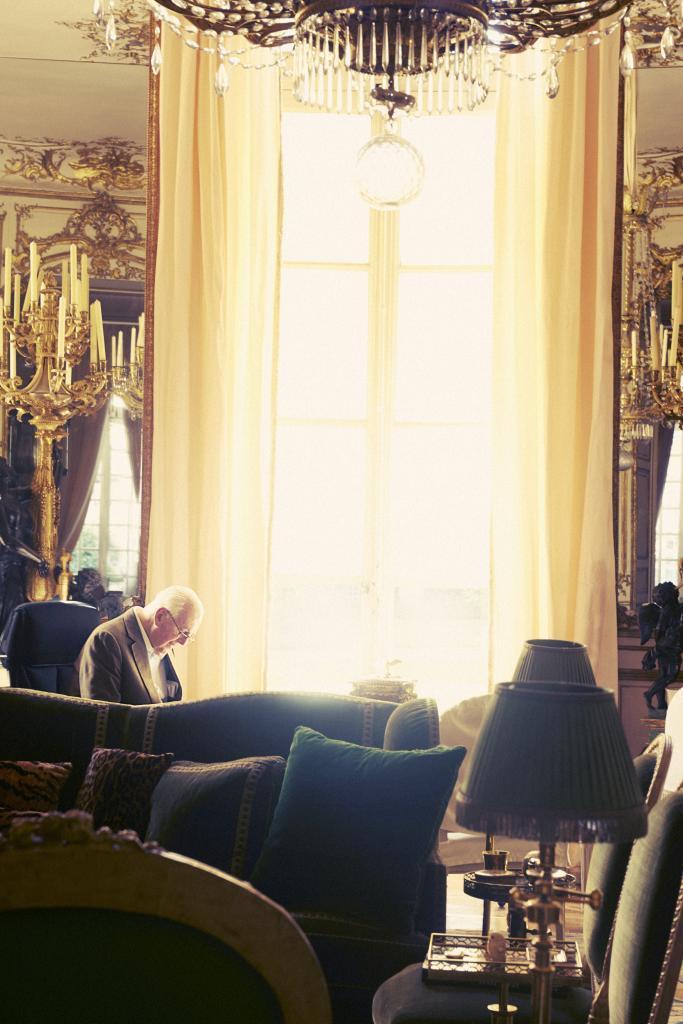 Casa de Givenchy en París.