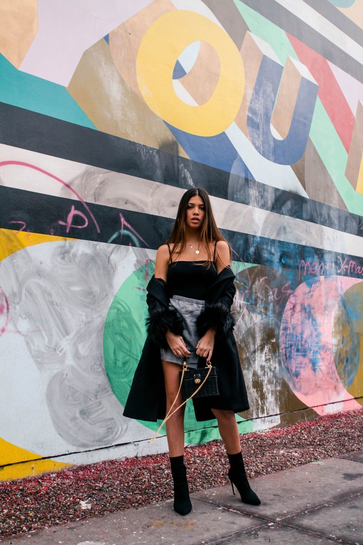 En plena pasarela de la moda de la Gran Manzana, Teresa Seco es una de...