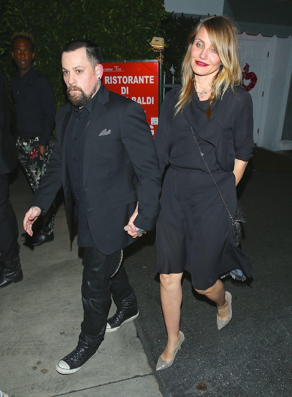 Cameron Diaz y su marido, Benji Madden.