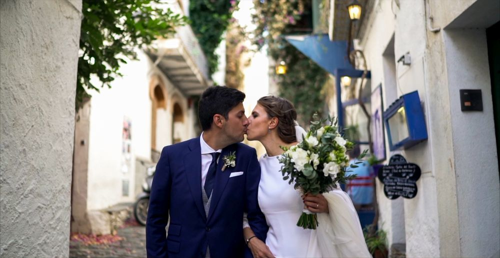 Del original vídeo de la boda de Andra y Ulises se encargaron los...