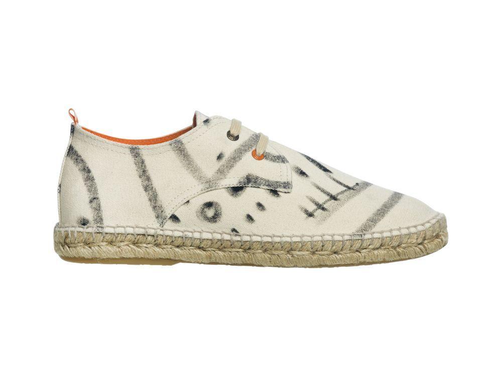 Zapatillas con suela de esparto, edición limitada del artista...
