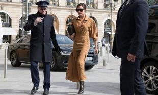Victoria Beckham en París.