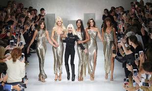 Desfile de Versace 2018.