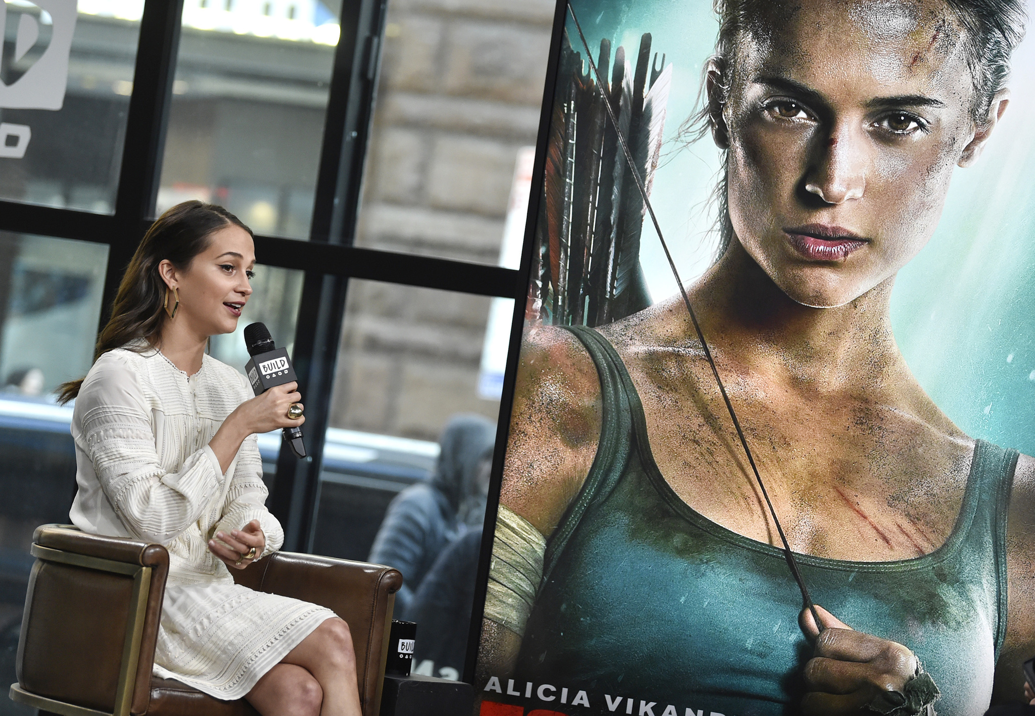 "La actriz Alicia Vikander participa en ""Build Speaker Series""  (2018,..."