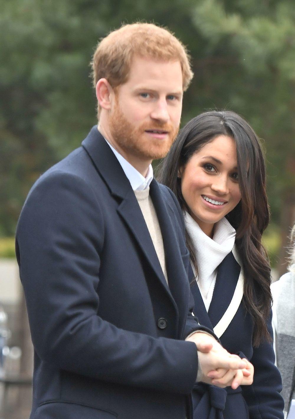 El príncipe Harry y Meghan Markle durante el Día Internacional de la...