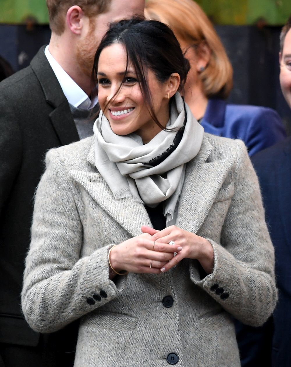 Para el día a día, Meghan adora las joyas discretas. Una pulsera...