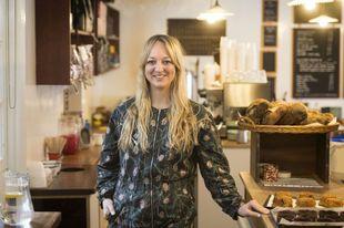 La chef Claire Ptak, encargada de elaborar la tarta de boda del...