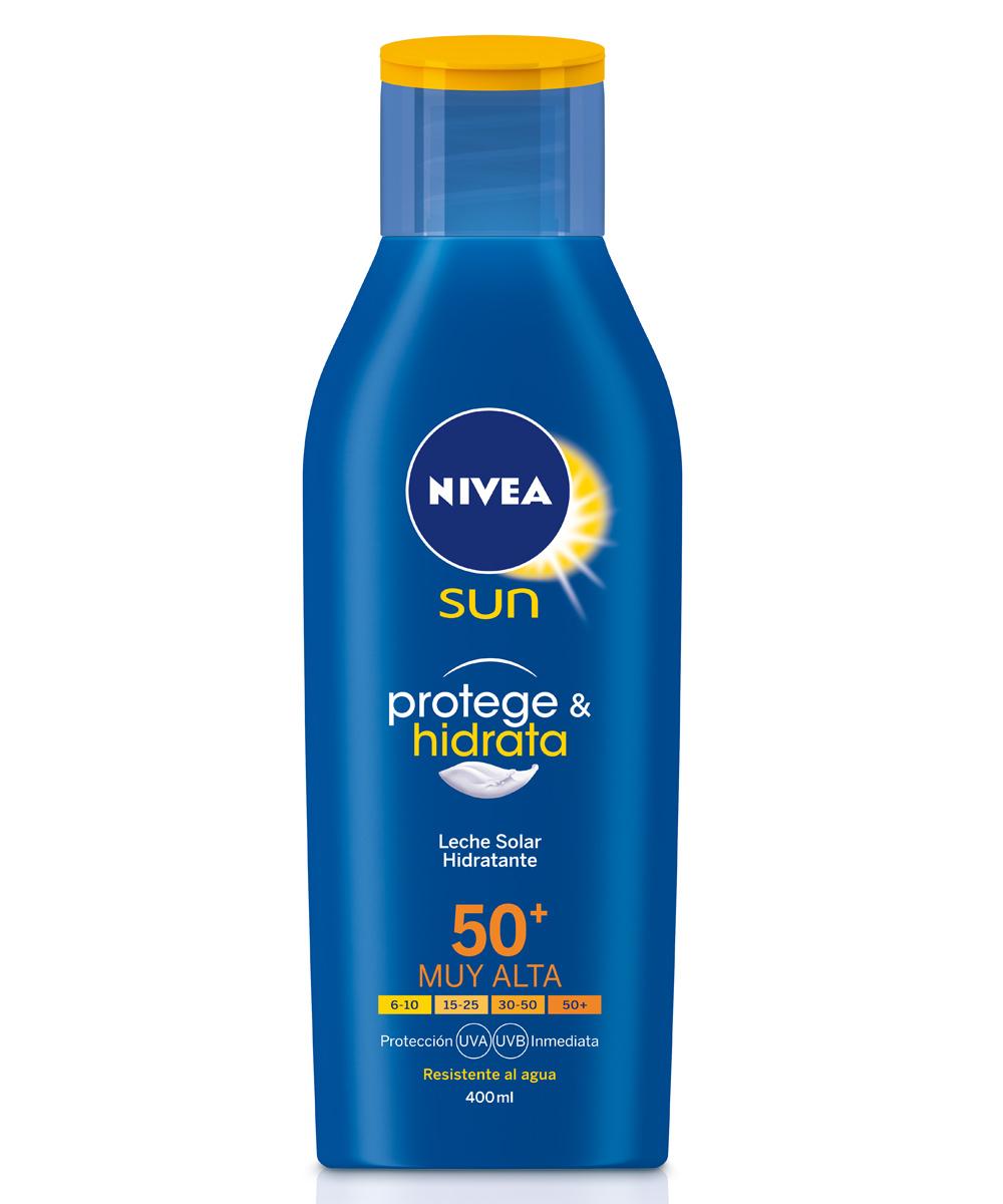 Leche solar SFP 50+, de Nivea Sun, otro de los magníficos de Birgit...