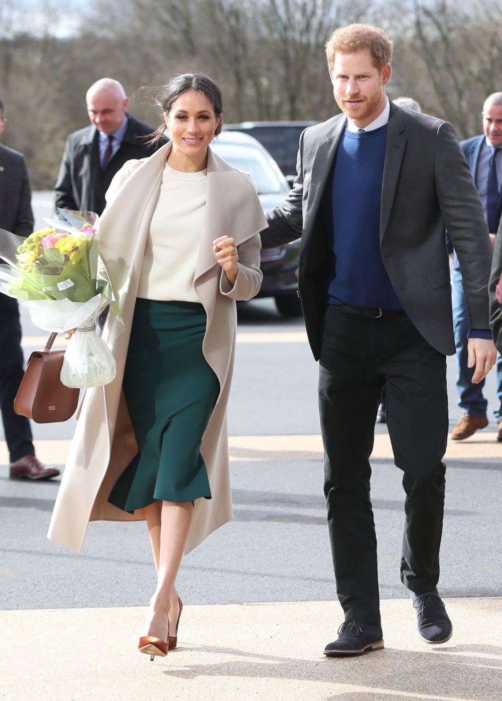 Meghan y Harry durante su último viaje oficial.