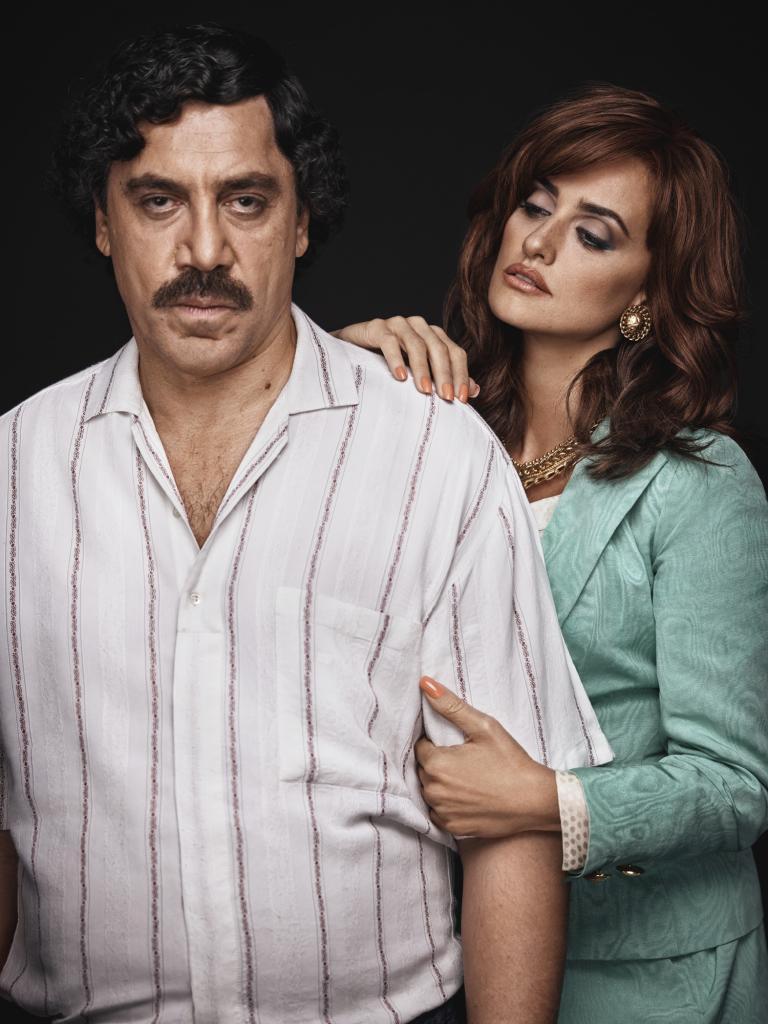 """Penélope Cruz y Javier Bardem en la película """"Loving Pablo"""""""