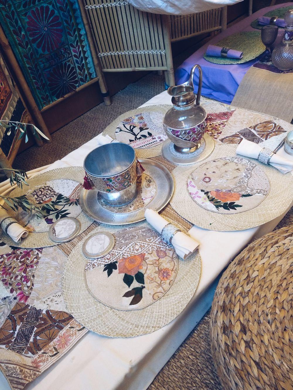 Cubertería y decoración de Belén Boheme
