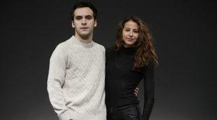 Ricardo Gómez e Irene Escolar en la presentación de la obra de...