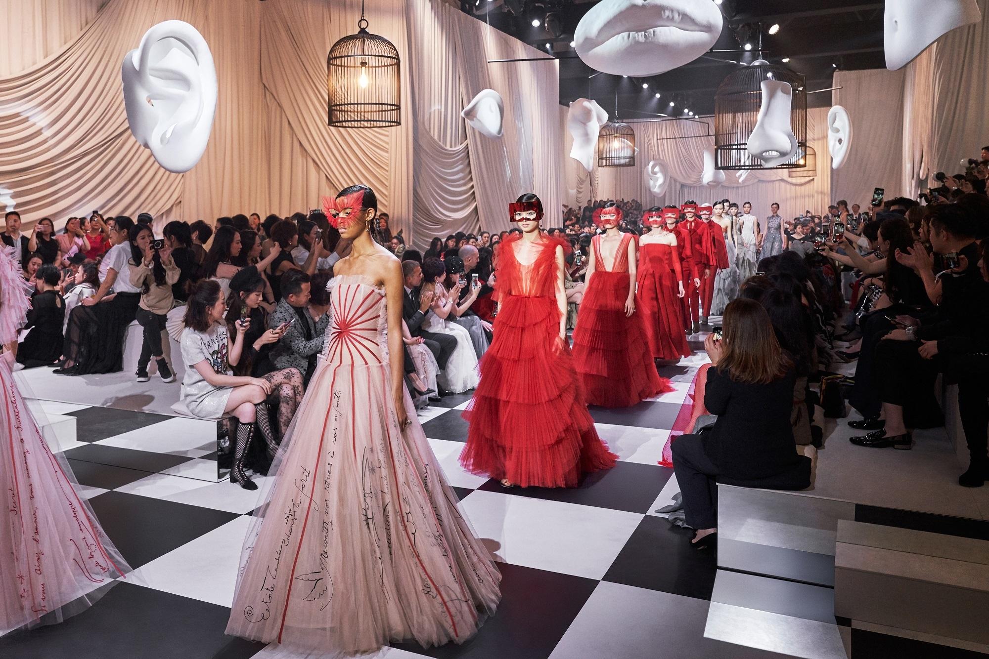 Christian Dior Alta Costura Primavera Verano 2018.