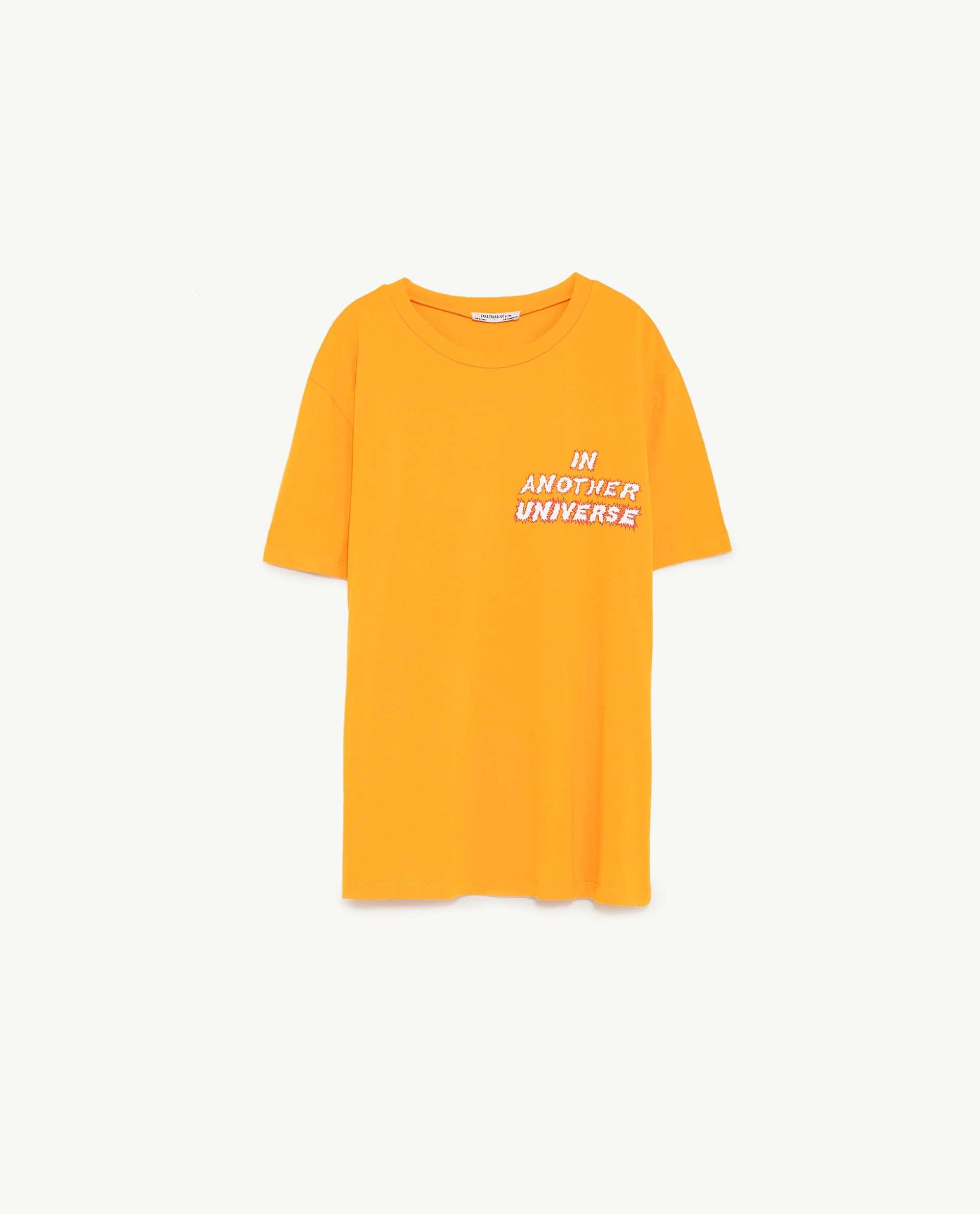 Camiseta, de Zara (12,95 euros).