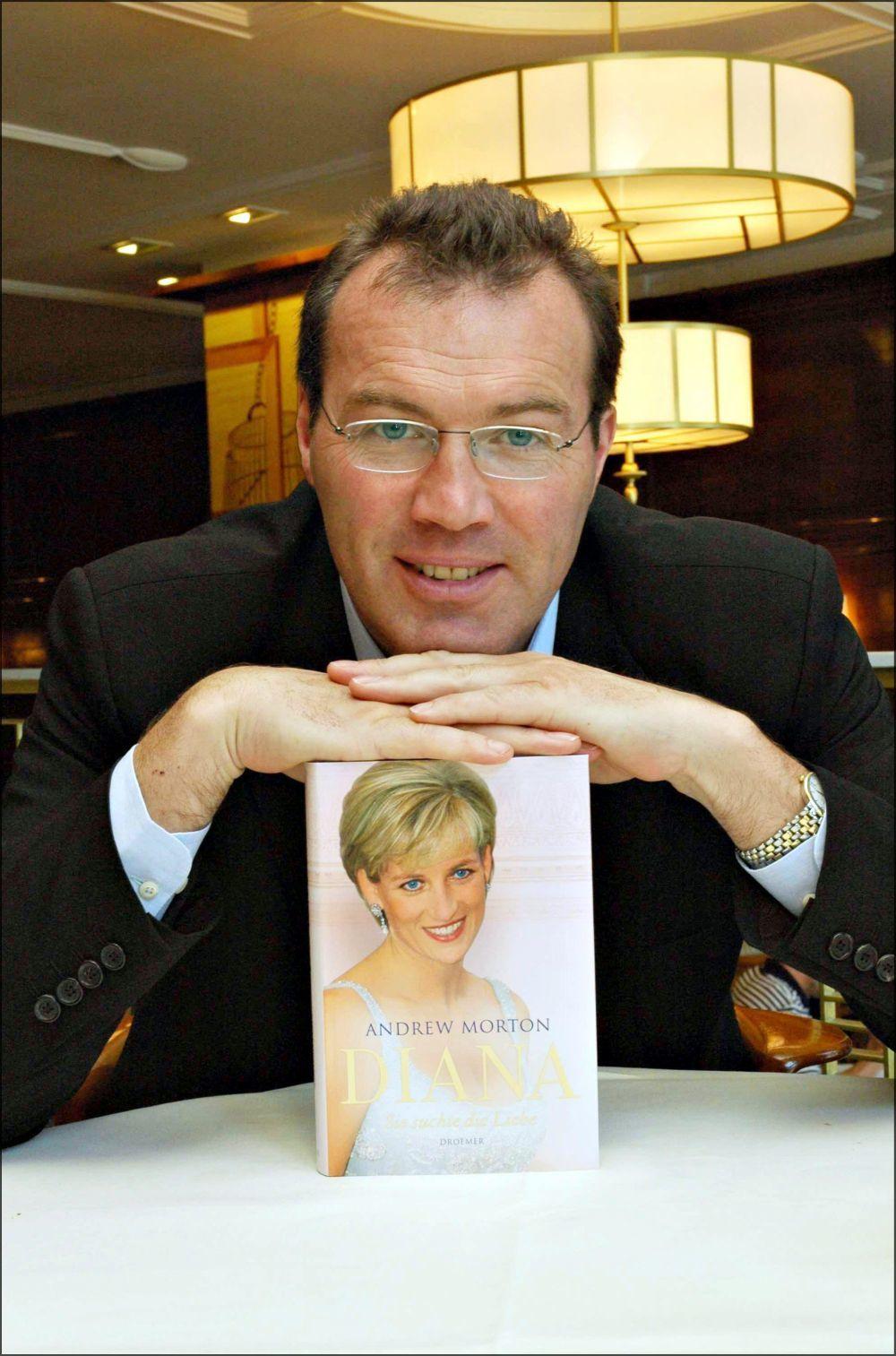Andrew Morton, el polémico autor de la biografía no autorizada de...