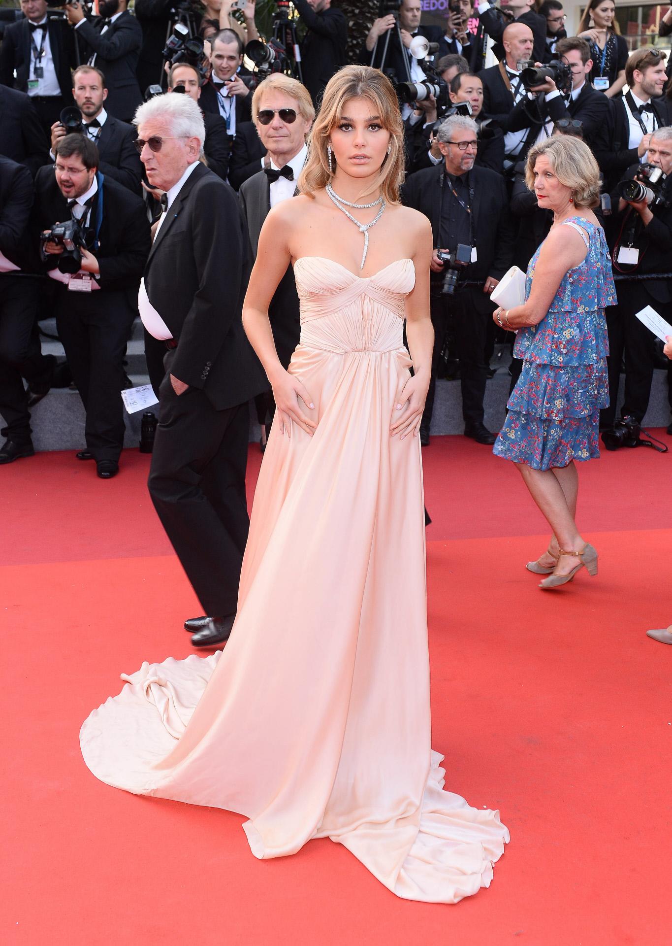 camila, espectacular en la alfombra roja del festival de Cannes de...