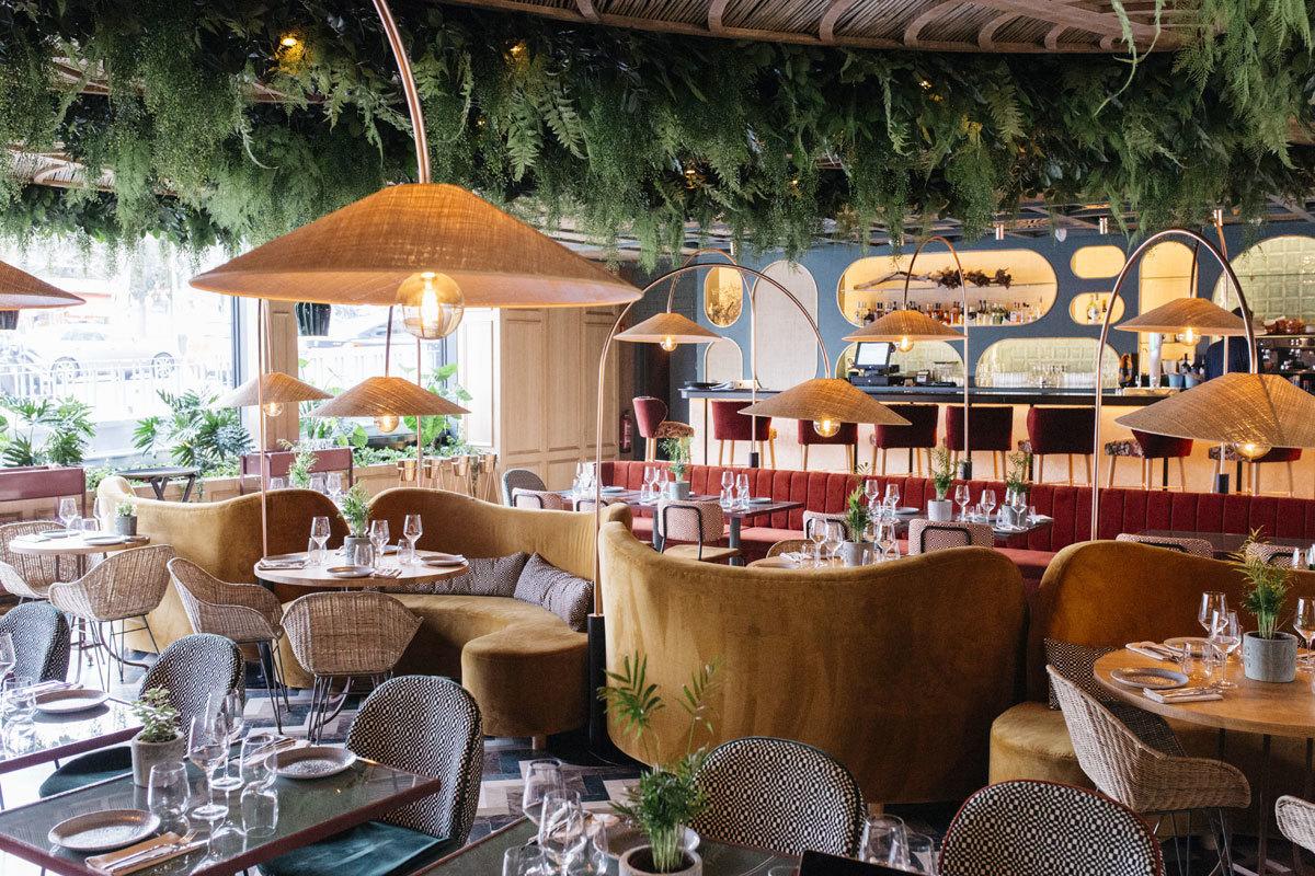 Restaurante Botania, la nueva incorporación del grupo Larrumba, en el...