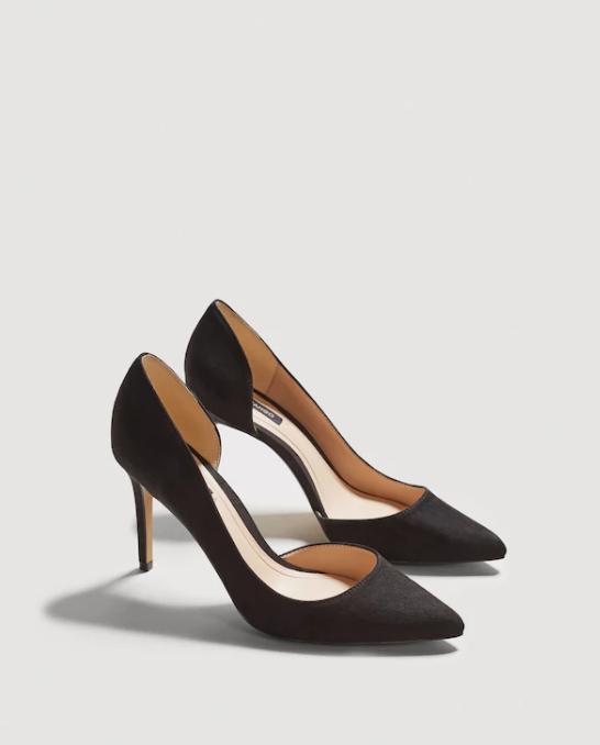 Zapatos de modelo asimétrico de Mango.