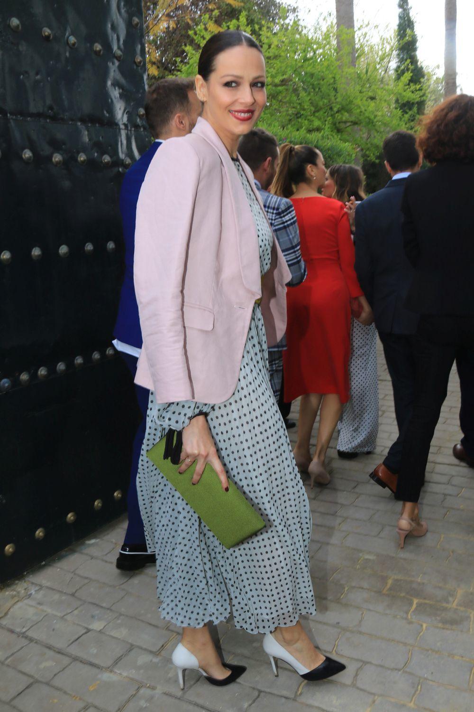 Eva González de boda en Sevilla.